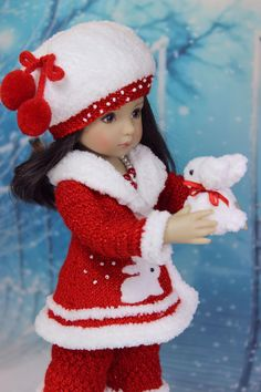Genuine Porcelain China Made In Japan Ag Doll Clothes, Crochet Doll Clothes, Knitted Dolls, Doll Clothes Patterns, Doll Patterns, American Girl Outfits, Girl Dolls, Baby Dolls, Doll Fancy Dress