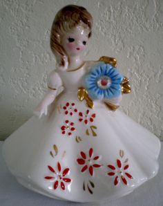 Vintage Josef Originals Porcelain Figurine by VINTAGEShopsDelight, $22.00
