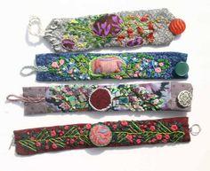 4 fabric cuffs