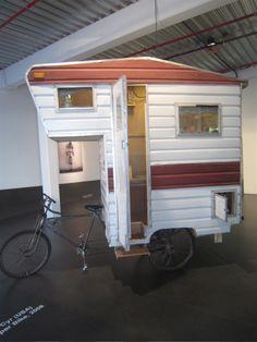 bike trailer... concept art at Oxylane's