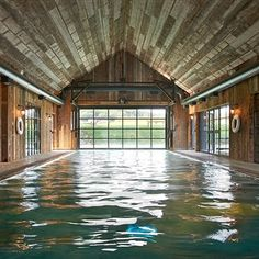 Farmhouse Indoor Swimming Pool - Discover the hotels in the Soho House empire from a traditional British country house to a hip Miami beach house. HOUSE - design, food and travel by House & Garden.