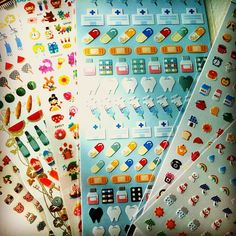 diary stickers... yummy