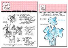 Sweet Perks Club: Flowers in Bloom Bundle - Sweet 'n Sassy Stamps