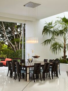 Private Residence, Boca Raton, FL contemporary dining room