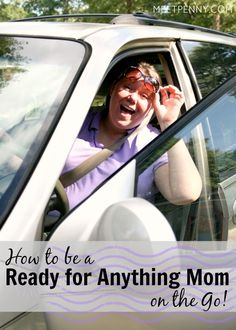 """I want to be a fun mom but too often, I am a """"not today"""" mom. Planning to pack a car kit of items our family would need to make fun and spontaneous trips to the beach, park, and more. Great ideas!"""