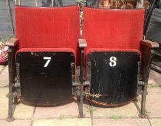 Vintage Cinema Seats.co.uk Cinema Seats, Brentford, Home Cinemas, Decor Ideas, My Style, House, Vintage, Home Decor, Decoration Home