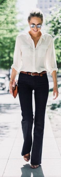Cute Spring Chic Office Outfits Ideas 11