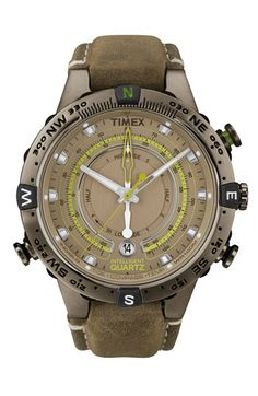 Timex® 'Intelligent Quartz' Compass Watch available at Nordstrom