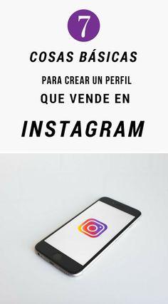 7 cosas básicas para crear un perfil que vende en Instagram | Marketing Consejos  | Instagram Consejos | Marketing Tips | Instagram Tips | #instagram #marketing #emprendedor #artesania #hechoamano #negocio