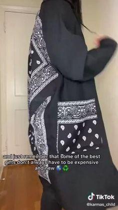 Fashion Sewing, Diy Fashion, Ideias Fashion, Fashion Outfits, Clothes Crafts, Sewing Clothes, Custom Clothes, Diy Clothes Design, How To Make Clothes