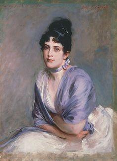 John Singer Sargent - Lily Millet, 1886