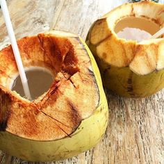 Coconuts counteract alcohol right!?