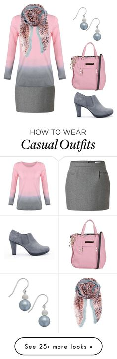 """Casual Work Outfit"" by rovereddo on Polyvore featuring J.W. Anderson, Geox, BeckSöndergaard, Ermanno by Ermanno Scervino, women's clothing, women's fashion, women, female, woman and misses"