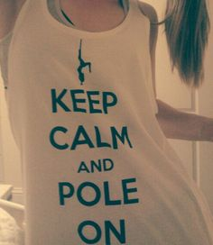 Love my pole T-shirt! Pole Dance Wear, Pole Dancing Clothes, Pole Fitness, Dance Outfits, Nice Tops, Beautiful Outfits, What To Wear, T Shirts For Women, Workout