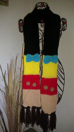 kind of want this  Disney Inspired Pinocchio scarf by michelesdesignsbymp on Etsy, $20.00