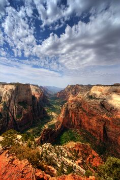 Canyon View......Zion by *ernieleo on deviantART