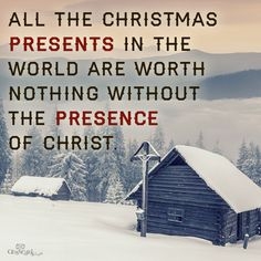 Enjoy His presence and your presents Christmas my friend. #LiveFreeLoveWell BrokenChainsIntl.com