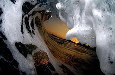 Красивые волны от фотографа Кларка Литтла - Путешествуем вместе