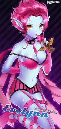 evelynn lol / eve league of legends  gathered by http://how2win.pl