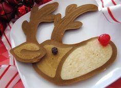 Jenni Price illustration: Videos, reindeer pancake art