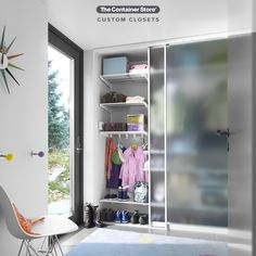 Design the Entry Closet or Mud Room of your dreams with Elfa! Contact us today for a free custom design. Entryway Organization, Life Organization, Entry Closet, Reach In Closet, Custom Shelving, Closet Shelves, Custom Closets, Closet System, Container Store