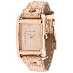 Michael Kors Women's MK2248 Pink Leather Quartz Watch with Gold Dial Michael Kors, http://www.amazon.com/gp/product/B005OBAVD6/ref=cm_sw_r_pi_alp_AhzLpb0H7D1EW