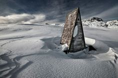 Alone in the mountains by Bragi Ingibergsson   Brin