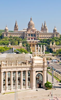 Mirador del Palau Nacional, Barcelona