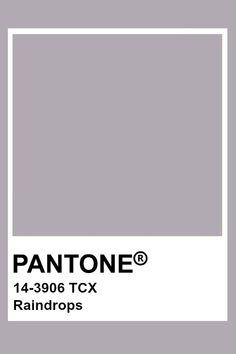 Pantone Raindrops Paleta Pantone, Pantone Tcx, Pantone Swatches, Color Swatches, Colour Pallette, Colour Schemes, Color Combos, Color Patterns, Pantone Colour Palettes