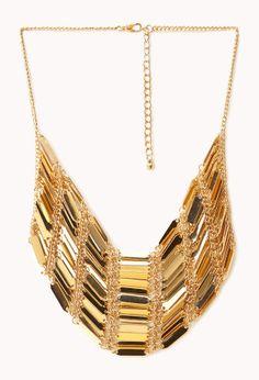 Gilded Godess Bib Necklace
