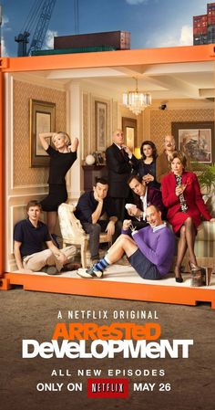 Arrested Development. With Jason Bateman, Michael Cera, Portia de Rossi, Will Arnett. Level-headed son Michael Bluth takes over family affairs after his father is imprisoned. But the rest of his spoiled, dysfunctional family are making his job unbearable.