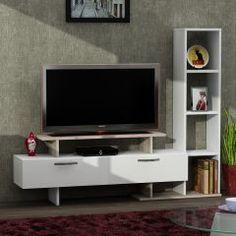 Minel Tv Ünitesi Beyaz-Cordoba
