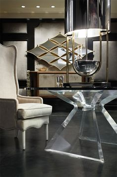 Sleek table design