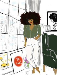 perfect sunday night by nikisgroove #illustrations