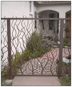 wrought iron gate - we need a really big gate for our driveway...