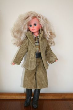 Beautiful Vintage doll 1965 Italocremona Corinne 916 Original clothes Italy | 82+4.86