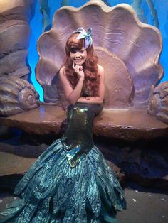 WDW Ariel in her grotto