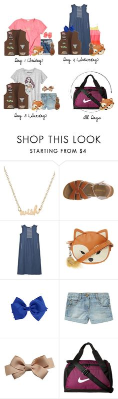 """""""Nyla For Beach Jam (June 23-June 25)"""" by myhappyfamily ❤ liked on Polyvore featuring J.Crew, Salt Water Sandals, Nautica, Disney and NIKE"""