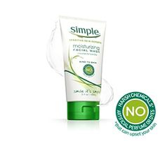works very nicely on my sensitive face - no fragrance, no dyes, no harsh chemicals