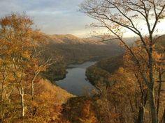 Near Hinton, West Virginia.