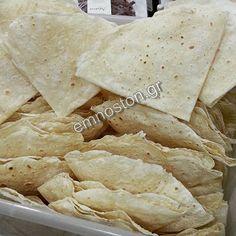 Παραδοσιακά Ζυμαρικά  -  'Εμνοστον: Φύλλα πέρεκ μαντηλάκια για ατομικές πιτούλες στο τ...