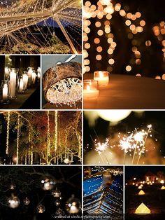 want a night wedding