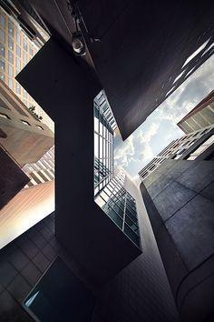 Sky Towering Skyscrapers by Eva Bouvard –