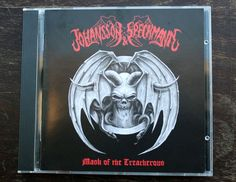 Johansson & Speckmann CD Mask of the Treacherous DEATH METAL 2015 Netherlands #DeathMetal