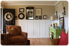 Sherwin Williams Ramie tan entry paint color | Involving Color Paint Color Blog