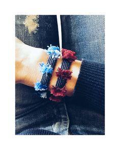 •blue°red or both•#ohsocutethings #handmade #jewelry #greekdesigners#greekdesigner #madeingreece #instapic #instajewels #instafashion #bracelet #love #cute #instagood #instaphoto #fall16#shop #instamood#photooftoday#jewelrygram#fashion#fashionista#fashionjewelry #fashiongram #happy#hippiechic #accessories #instalike #tassels #boho
