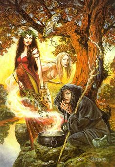 I am a witch, by which I mean that I am somebody who believes that the earth is sacred, and that women and women's bodies are one expression of that sacred being.