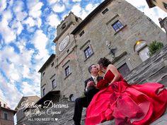 Matrimonio in rosso.