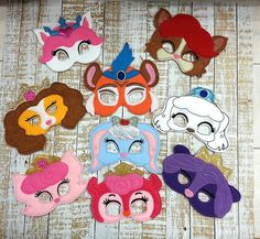 Palace pet Masks by Pluzzies on Etsy