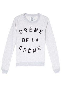 fda61cbb3d Crème De La Crème Sweater by Zoe Karssen